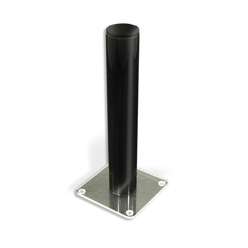 """CLOSEOUT: Vertical Counter Display on a Square Base (2"""" D X 11.75"""" H)"""