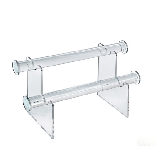 """CLOSEOUT: Two-Tier Bracelet Counter Display. Overall Measurements: 6""""H x 11.75""""W"""