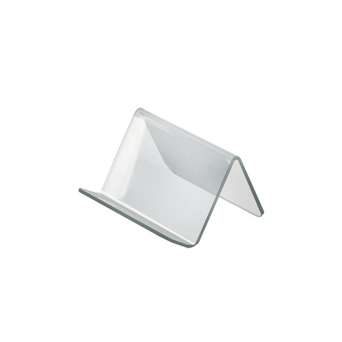 """3.75""""W x  3.5""""D x 2.5""""H  Easel Display. Front Lip: 1""""H"""