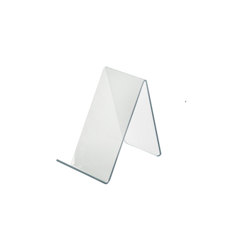 """2.5""""W x  5""""D x 4.125""""H Easel Display. Front Lip: 1.25""""H"""