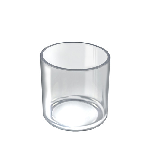 """4"""" x 4"""" Deluxe Clear Cylinder"""