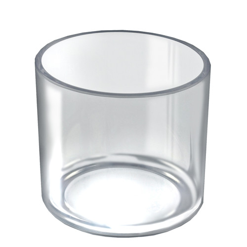 """6"""" x 6"""" Deluxe Clear Cylinder"""