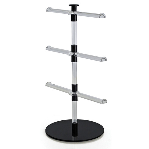 CLOSEOUT: Three-tier Necklace/Bracelet Counter Display