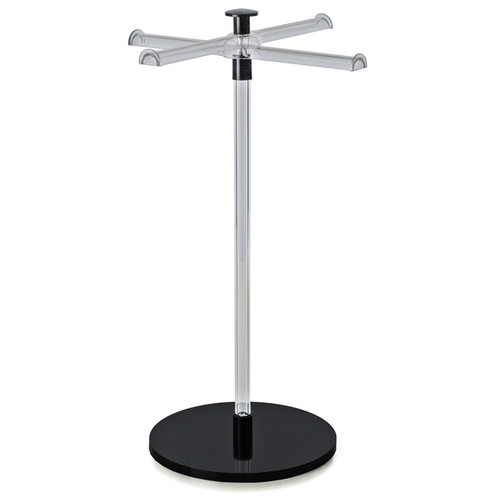 CLOSEOUT: Crossed Single Pole Necklace/Bracelet Counter Display