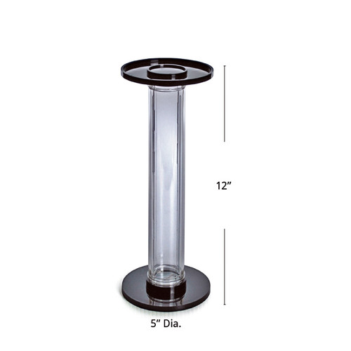"""CLOSEOUT: Vertical Counter Hat Display (2"""" D X 12"""" H)"""