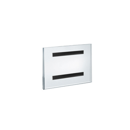 """8.5""""W x 5.5""""H Sign Holder w/ Magnetic Strips"""