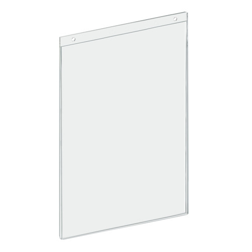 "Clear Acrylic Wall Hanging Frame 11"" Wide x  17'' High- Vertical/Portrait, 10-Pack"
