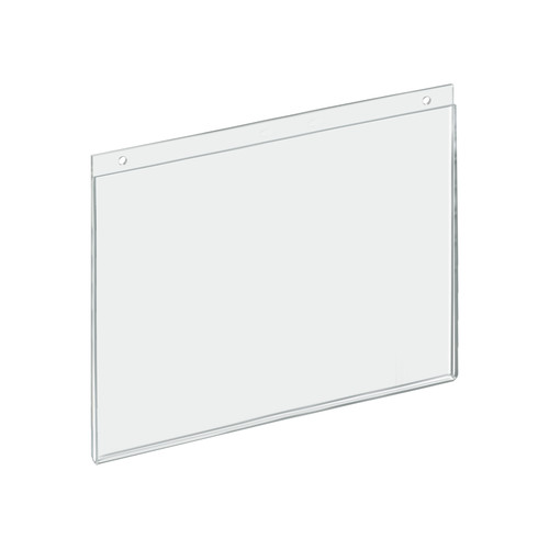"Clear Acrylic Wall Hanging Frame 14"" Wide x  11'' High- Horizontal/Landscape, 10-Pack"
