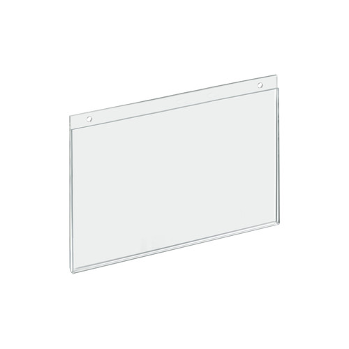 "Clear Acrylic Wall Hanging Frame 11"" Wide  x 7'' High - Horizontal/Landscape, 10-Pack"