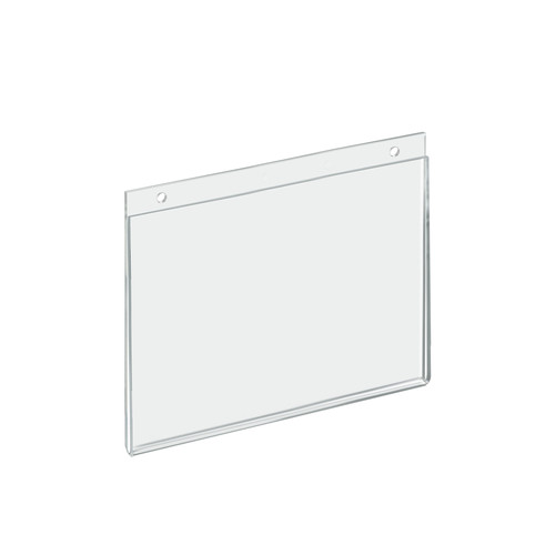 "Clear Acrylic Wall Hanging Frame 10"" Wide x 8'' High Horizontal/Landscape, 10-Pack"