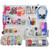 """The Ultimate DIY Multi-Purpose 24-Piece Pegboard Wall Organizer Kit with Two Panels and Accessory Assortment (2- 13.5""""W X 22""""H)"""