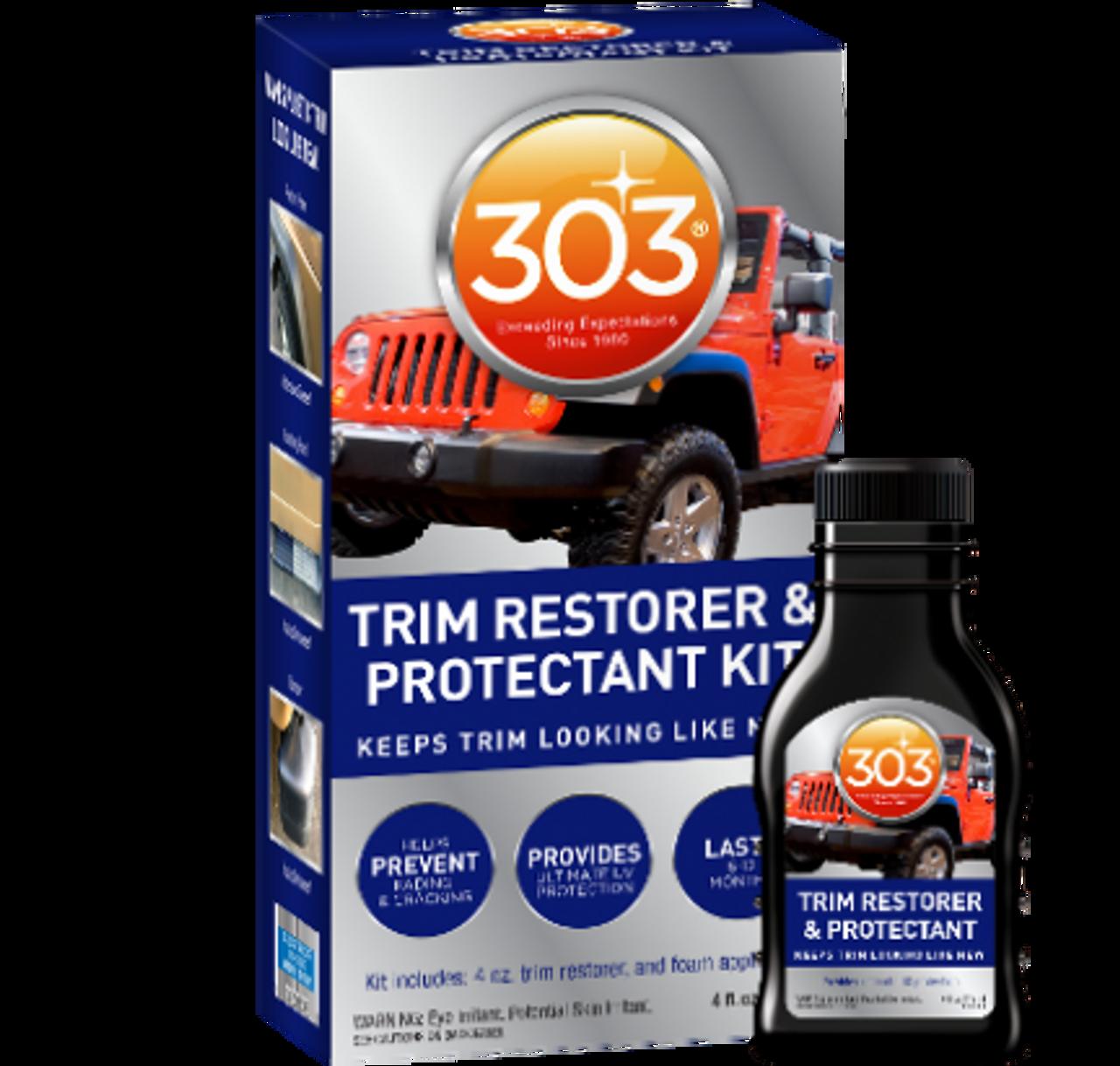 303 Trim Restorer & Protectant - Restores colour to car bumpers & trim