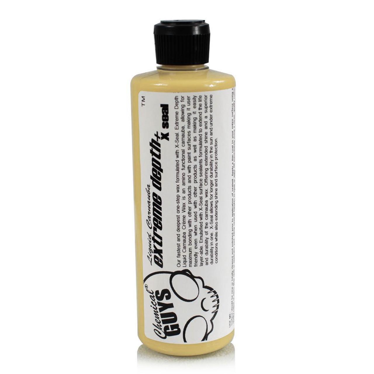 Extreme Depth Liquid Carnauba Creme Wax + X-Seal (16 oz)