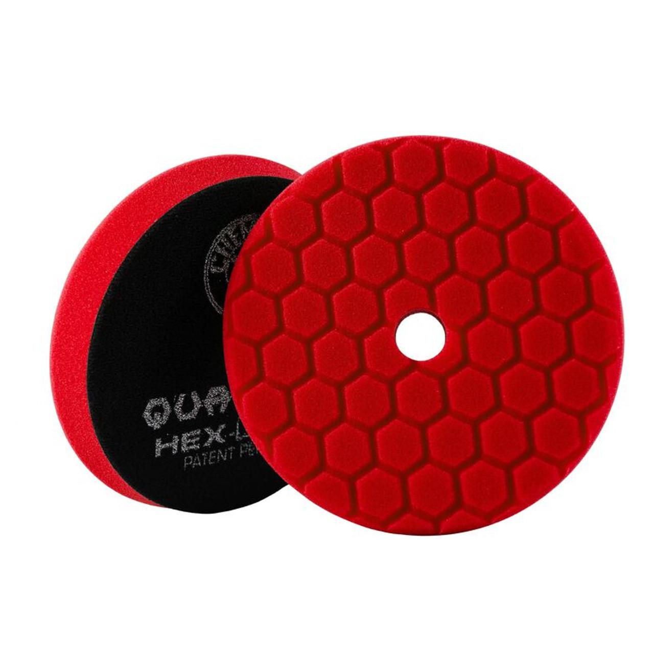 """Hex-Logic Quantum Ultra Light Finishing Pad, Red (6.5"""")"""