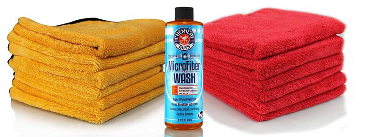 Chemical Guys Microfibre Rejuvenator - Microfiber Cleaning Detergent Concentrate (16 oz )