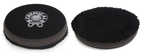 "Chemical Guys BUFX_303_5 - Black Optics Microfiber Black Polishing Pad (5.5"")"