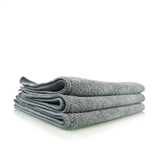 "Chemical Guys Workhorse Gray Professional Grade Microfiber Towel, 16"" x 16"" (1 pc)"
