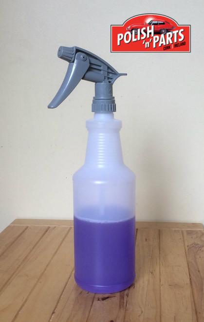 947ml Handi Hold plastic chem resistant bottle with Tolco 320CR Sprayer