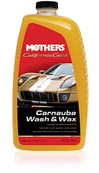 Mothers California Gold  Carnauba Wash & Wax 64oz (1.89 litres)