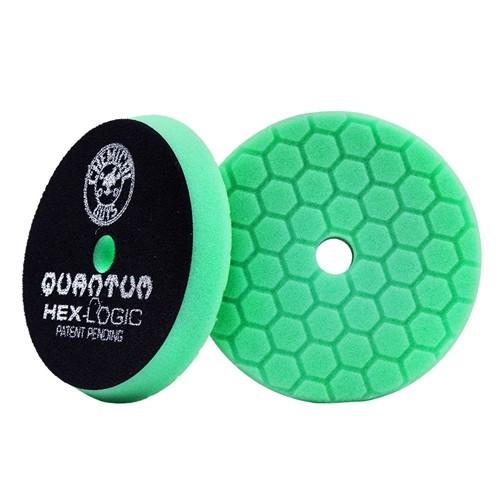 "Hex-Logic Quantum Heavy Polishing Pad, Green (6.5"")"