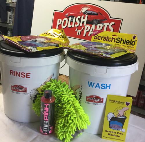 Professional 2-Bucket Wash Kit