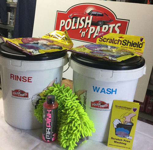 Professional 2-Bucket Wash Kit