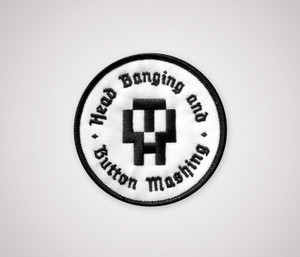 HB&BM Patch - Black & White