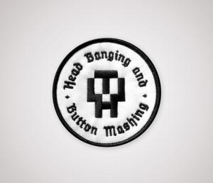 HB&BM Patch - Black & White