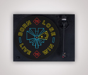 Born To Lose Turntable Mat