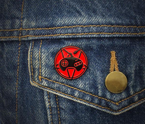 Genesis Cult Pin