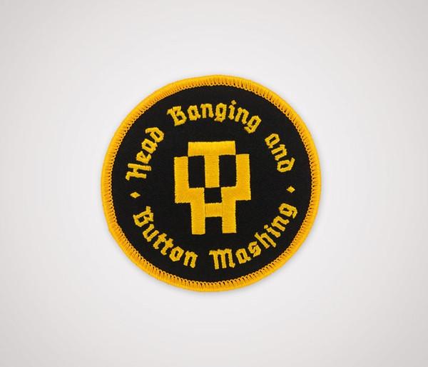 HB&BM Patch - Black & Gold