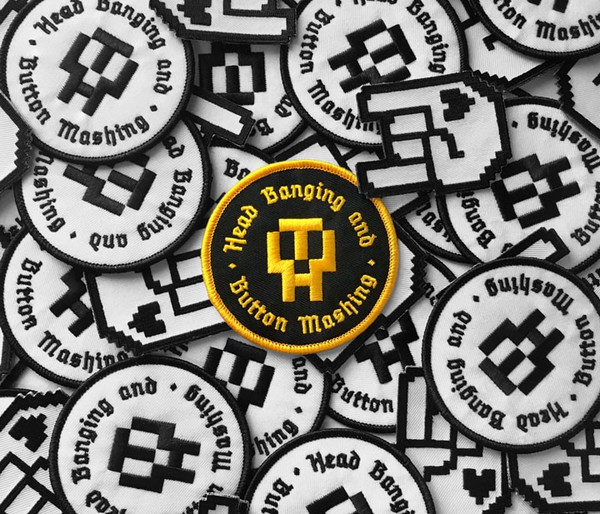 HB&BM Patch - Black & Gold