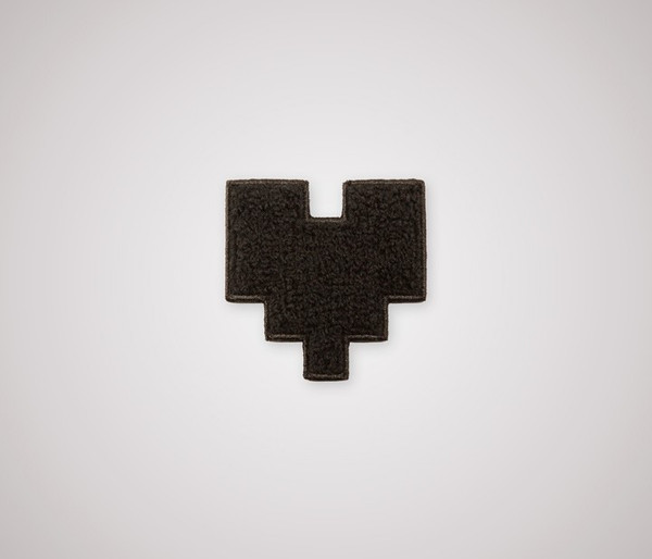 Fuzzy Pixel Heart Patch