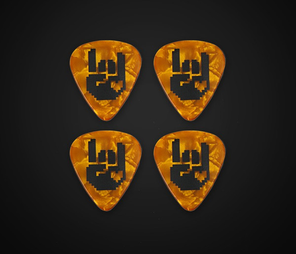 8-Bit Rockhart Picks - Gold