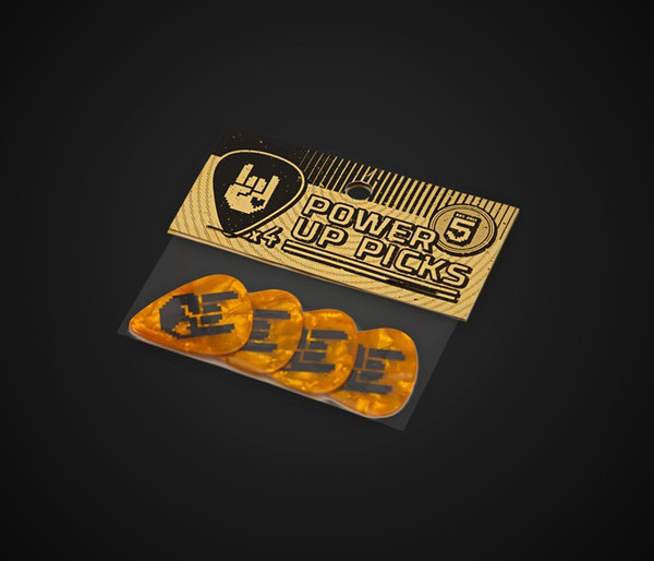 8-Bit Rockhart Picks - Gold