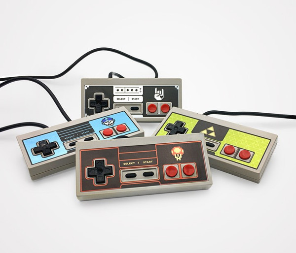 NES Controller Faceplate - 8-Bit Rock