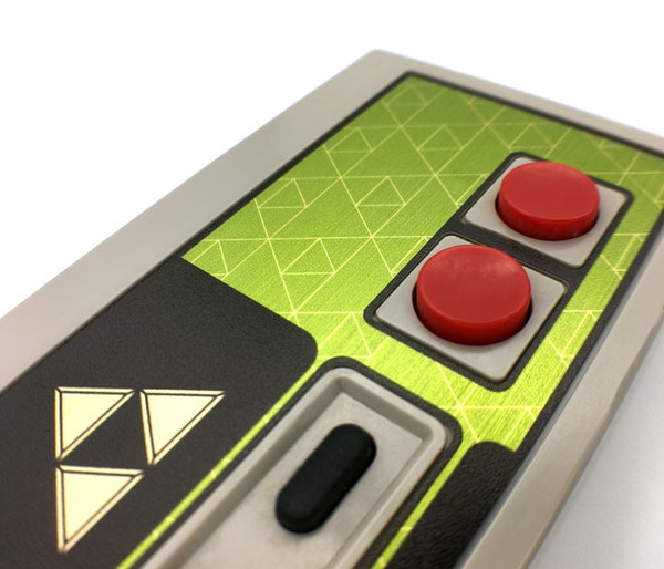 NES Controller Faceplate - Triforce