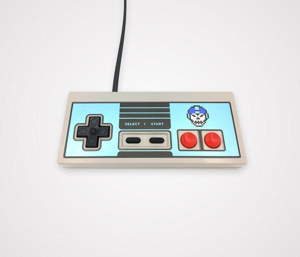 NES Controller Faceplate - Mega Death
