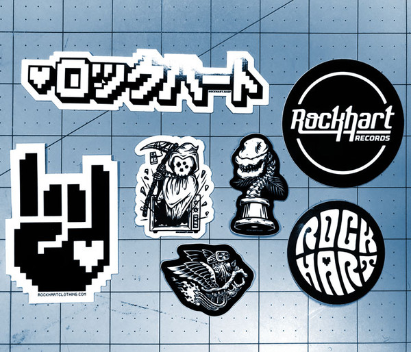 Black & White Sticker pack