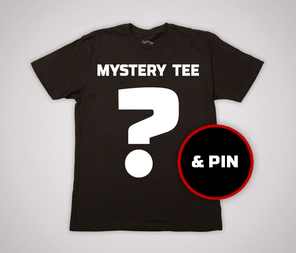 Mystery Tee + Pin