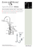 Perrin & Rowe Oberon - C Spout 4866 (with Rinse) Kitchen Tap