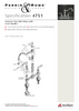 Perrin & Rowe Provence 4751 (Lever Handles) Kitchen Tap
