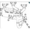 Franke Siphon 3 (Lira 3) Plumbing Kit