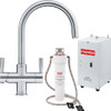 Franke Omni 4in1 Kettle Tap Stainless Steel - Complete with heater & filter kit - 119.0380.520
