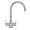 Franke Orion Tectonite Sink 1.5 Bowls Single Drainer Reversible Complete with basket strainer wastes/Overflow - PLUS Athena Tap