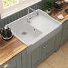 Chambord Francois I White Ceramic Kitchen Sink