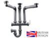 British Precision Plumbing Triple Bowl Plumbing Kit