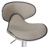 Deluxe Carcaso Bar Stool Grey