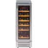 Stainless Steel/Black 300SSWC Integrated 30cm Wine Cooler