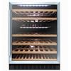 Stainless Steel/Black Integrated 60cm Matrix Wine Cooler
